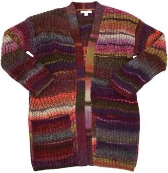 Burberry Wool Blend Knit Maxi Cardigan