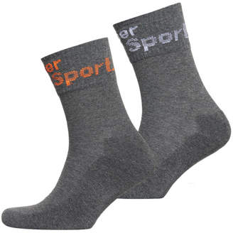 Superdry Dry Mid-Sock Double Pack