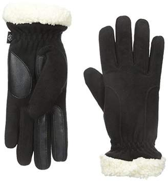 Isotoner Women's Stretch Fleece SherpaSoft Gloves