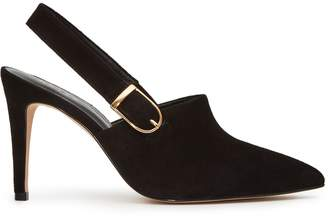 Reiss Sass Buckled Point-Toe Shoe