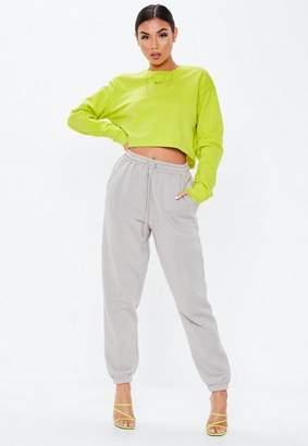 Missguided Cropped Sweatshirt