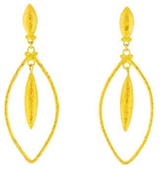 Gurhan 24K Marquise Geo Earrings