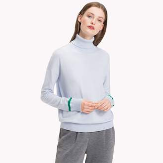 Tommy Hilfiger Cotton Cashmere Turtleneck