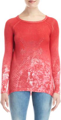 Desigual Studded Raglan Sweater