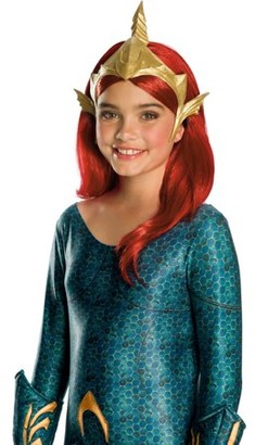 Halloween Aquaman Movie Kids Mera Deluxe Tiara