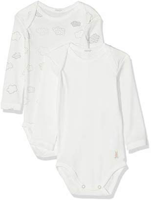 Benetton Baby 2 Bodysuit Footies (Pack Of 2),(Manufacturer size: 62)