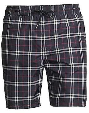 Burberry Men's Checkered Cotton Shorts