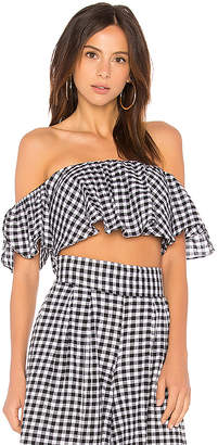 MISA Los Angeles Lunna Crop Top