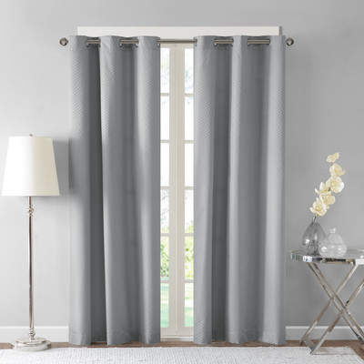 Wayfair Hawley Jacquard Room Darkening Blackout Curtain Panels