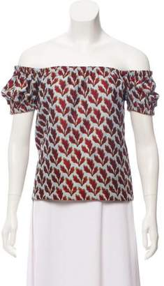 Philosophy di Lorenzo Serafini Brocade Top