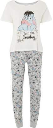 Dorothy Perkins Womens Petite Multi Colour 'Eeyore' Pyjama Set