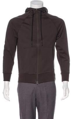 Y-3 Hooded Long Sleeve Jacket