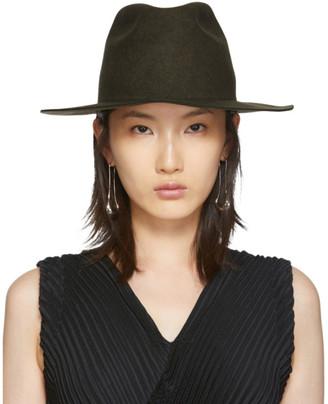Cherevichkiotvichki Brown Felt Hat