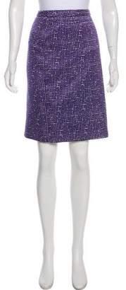 Tory Burch Geometric Knee-Length Skirt
