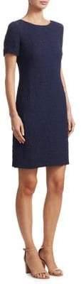 Akris Punto Textured Shift Dress