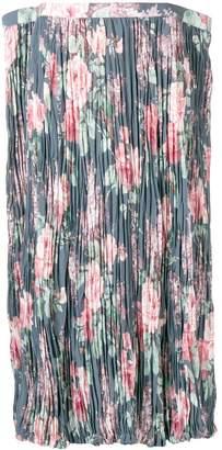 Junya Watanabe フローラル プリーツスカート