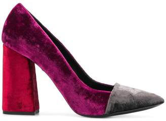 Just Cavalli block heel pumps