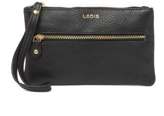Lodis Small Leather Wristlet