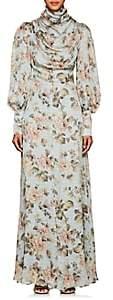 Zimmermann Women's Floral Silk Maxi Dress