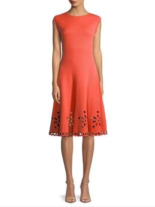 Carolina Herrera Women's Cutout Day Dress