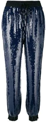 Tommy Hilfiger sequins track trousers