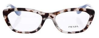 Prada Tortoiseshell Eyeglasses