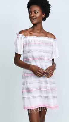 Lemlem Tereza Ruffle Neck Dress