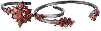 Noir Frozen Cuff Bracelet