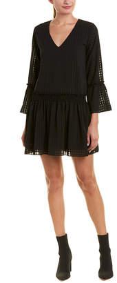 Waverly Grey Smocked Drop Waist Dress