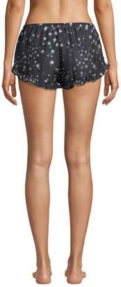 Xirena Sybella Etoile-Print Lounge Shorts