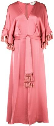 Sachin + Babi waist-tied midi dress
