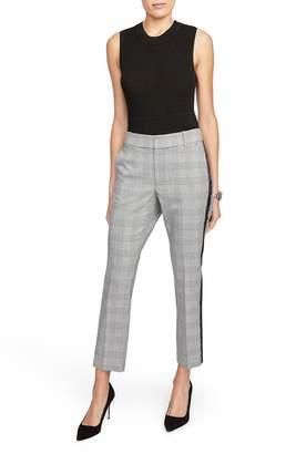 Rachel Roy Collection RACHEL Side Stripe Plaid Pants