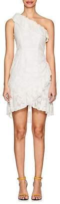 Ulla Johnson Women's Rimona Floral Fil Coupé Silk-Cotton Dress