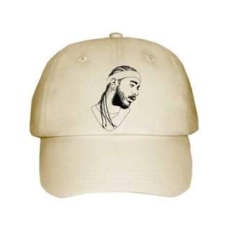 Gents Babes & Post Malone White Iverson Cap/Hat (Unisex)