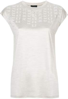 Akris patterned T-shirt