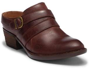 Børn Boone Leather Buckle Shootie