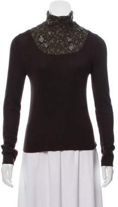 Akris Embellished Cashmere Sweater
