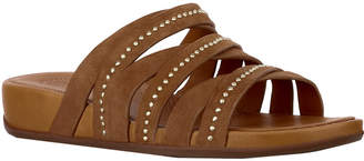 FitFlop Lumy Leather Slide Sandal