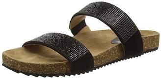 Salamander Women's Rami Open Toe Sandals Black Size: