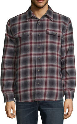 ST. JOHN'S BAY Flannel Lightweight Shirt Jacket