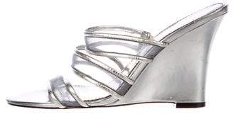 Calvin Klein Metallic Slide Sandals