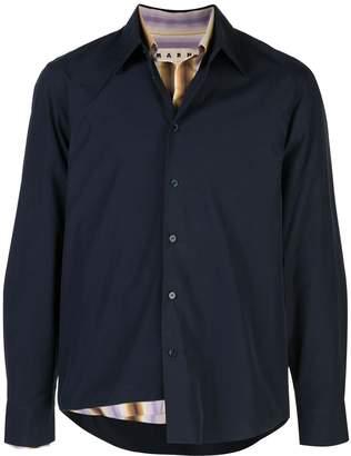 Marni double layer shirt