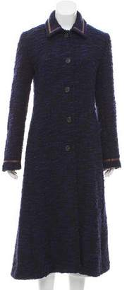 Max Mara Wool-Blend Bouclé Coat