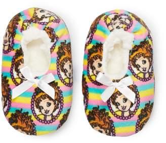 Disney Disney's Fancy Nancy Toddler Girl Fuzzy Babba Slipper Socks