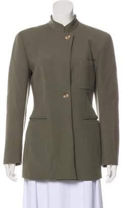Giorgio Armani Stand Collar Casual Jacket