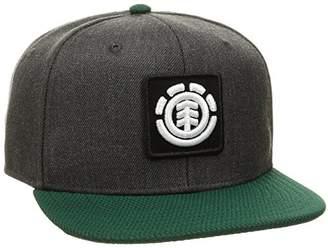 Element (エレメント) - [エレメント] [キッズ] フラット キャップ (サイズ調整可能) AI025-902 / UNITED B CAP BOY/帽子 子供服 かわいい BHE_ブラック US F (FREE サイズ)