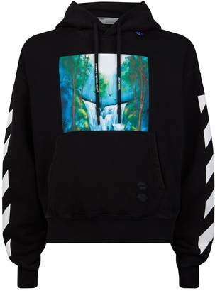 Off-White Off White Waterfall Hoodie