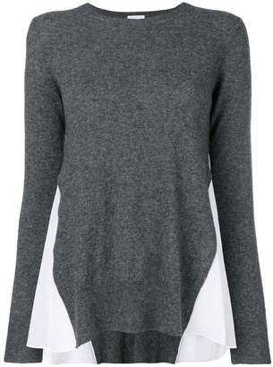 Dondup contrast side panel sweater