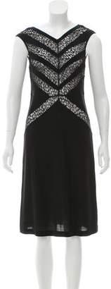 Tocca Sleeveless Midi Dress