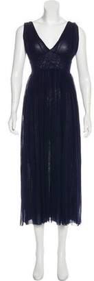 Jean Paul Gaultier Soleil Sleeveless Midi Dress w/ Tags